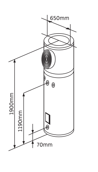 270l Solar Heat Pump